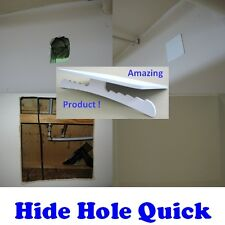 Drywall Repair Plate to Hide Hole in Sheetrock Wall and Ceiling (medium)