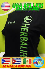 HERBALIFE PRODUCTS S, M, L, XL, 2XL UNISEX  T-SHIRT GREEN LOGO CUSTOM NAME *NEW*