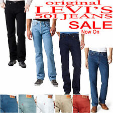 LEVI'S 501 MEN'S JEANS BRAND NEW All COLOUR (100% AUTHENTIC)TROUSER/CHINO/SHORTS