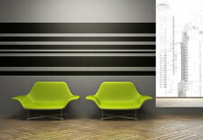 Wall Decal Geometric Stripes Lines Horizontal Pattern Vertical