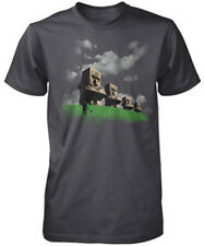 AUTHENTIC MINECRAFT THE CREEPER  STATUES VIDEO GAME BOYS YOUTH T SHIRT