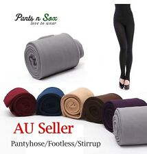 Lady Warm Winter Skinny Leggings Womens Stretch Pants Thick Footless