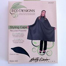 *BUY 3 FOR $21-BETTY DAIN Eco Salon/Barber STYLING & HAIRCUTTING CLOTH SNAP CAPE