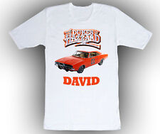 Personalized Custom Dukes of Hazzard Birthday Shirt Gift in 4 shirt colors