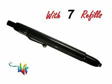 Retractable Grease Pencil With 10 Refills (Black,Red,White,Blue,Green,Yellow)