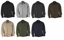 PROPPER MILITARY TACTICAL BDU LONG SLEEVE SHIRT RIPSTOP- POLY/COTTON BLEND-F5452