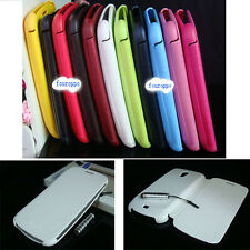 Luxury Flip Synthetic Leather Case Cover For Samsung Galaxy Nexus i9250 + Pen