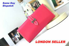 Women's Clutch Purse Wallet iPhone 5 Samsung Trifold Fashion Faux Leather Colour