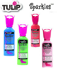 Tulip Sparkles 3D dimensional fabric paint 37ml - *same low p+p any quantity