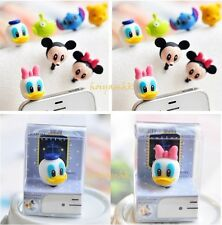 New Cute 3D Disney Character 3.5mm Dust Plug/Earcap For iPhone/Samsung Mobile