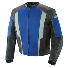 JOE ROCKET PHOENIX 5.0 MESH MOTORCYCLE RIDING JACKET BLUE BLACK WATERPROOF LINER