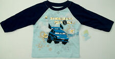 Baby Boys Disney Cars DJ Loose shredding snow t-shirt long sleeve