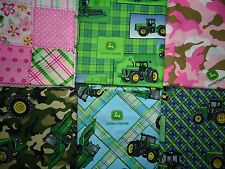 JOHN DEERE TRACTOR 100% COTTON FABRICS SOLD BY THE YARD