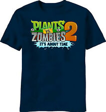 Plants vs Zombies 2 T-Shirt Plush Figures Xbox 360 Merchandise Clothing Youth