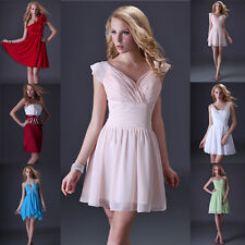 STOCK Prom Bridal Gowns Wedding Bridesmaid Formal Evening Party Cocktail Dresses