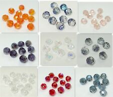 200PCS variety of color #5000 ROUND CRYSTAL BEADS 4MM