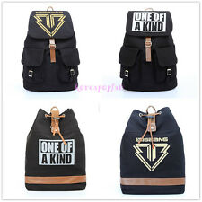 Bigbang big bang G-dragon GD CANVAS 4KINDS SCHOOLBAG BACKPACK KPOP BAG NEW