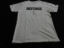 ADIDAS MEN'S ATHLETIC GO TO TEE LARGE WHITE/BLACK COTTON NEW WITH TAGS