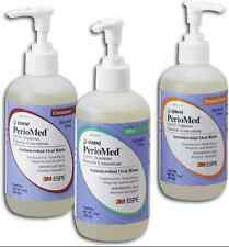 3M ESPE PerioMed 0.63% Fluoride Antimicrobial Oral Rinse Mouthwash - ALL FLAVORS