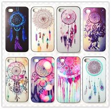 DreamCatcher Net Campanula Fitted Skin Case Cover For Apple IPHONE 4 4G 4S+Film