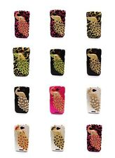 Multi-choice Bling Rhinestone Peacock Case Cover for HTC One S