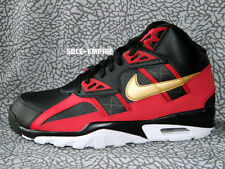 Nike Air Trainer SC High Black Gold Red White 49ers Bo Jackson 302346-070 New DS