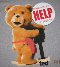 """TED """"How May We Help You Today?"""" Adult T-Shirt  Officially Licensed Merchandise"""