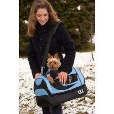 Small Pet Gear Aviator Dog Carrier Cat Bed and Puppy Car Seat in One Blue Pink