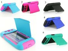 Samsung Galaxy S3 Hybrid Credit Card ID Holder Cell Phone Case Cover Accessory