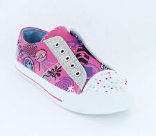 Girls Airtech Casual Pink Pumps Rogue