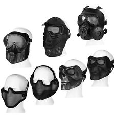 Paintball Tactical Airsoft Game Face Protection Safety Mask Guard