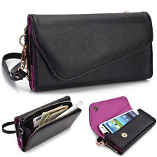 Kroo Fall Flip Designer PU Leather Smartphone Wrist-Let Cover Pouch Bag Guard U1