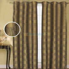 "2PCS 40""x84"" LUXURIOUS JACQUARD PANELS CURTAINS WINDOW COVERINGS 4COLORS"