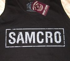 Sons of Anarchy SAMCRO TANK TOP Officially Licensed SOA Merchandise Reaper Crew