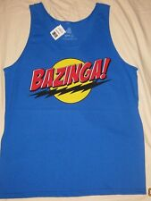 Big Bang Theory BAZINGA! Men's Tank Top Officially Licensed Merchandise