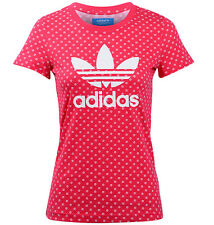 Adidas Originals Woman's Blaze Pink Trefoil Lips Tee -  XS/S/M/L - NEW W/TAGS!