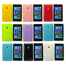 New Multi Color Jelly Rubber Soft case Cover for Nokia 520 Lumia 520