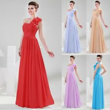 2014 New Evening Formal Party Ball Gown Prom Bridesmaid Long Dresses 5Color 2-16