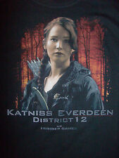 HUNGER GAMES Katniss Everdeen Juniors T-Shirt Brand New with Tags