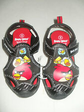 ANGRY BIRDS Closed-Toe Comfort Play Sandals Shoes NWT Sizes 7,8, 9, or 10