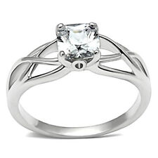 Elite Solitaire Stone - Wedding Engagement Band - Women Commitment Promise Ring
