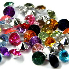 WHOLESALE VARIOUS COLOR 5.5MM/25SS ACRYLIC RHINESTONE DIY POINT BACK CRAFT B0283