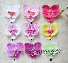 Wholesale Lot Orchids Tropical flowers hair clip - ROCKABILLY DITA BURLESQUE