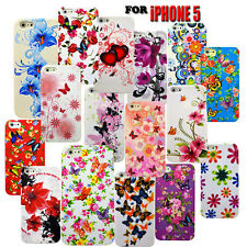 12 Varies Flower Design Silicone Phone Skins Phone Case Cover For Iphone 5 5S
