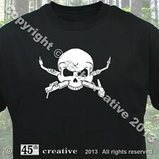 Welder Crossbones T-shirt - skull mig tig arc welding rod gas torch wire t Shirt