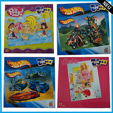 Mattel Puzzle 100er Play Barbie Hotwhells Polly Pocket  WOW Spiel Lernen Spass