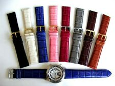 24mm Crocodile calf XL extra long Quick Release watch band strap IW SUISSE 22mm