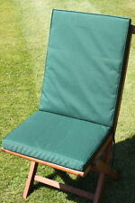 Garden furniture Cushion- Seat & Back Cushion for a Garden Chair- in 7 colours
