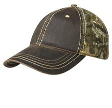 New Port Authority Pigment-Dyed Camouflage Cap Hat CAMO Hunting Hat C819