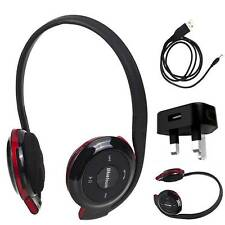 BH503 BLUETOOTH WiRELESS STEREO HEADPHONES HEADSET CHARGER FOR Moto V80 n more